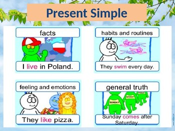 Present Simple + Why (because) + Feelings PPT