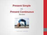 Present Simple vs Present Continuous - Powerpoint