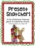 Present Snatcher Christmas Rhyme Game