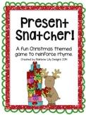 Present Snatcher Christmas Rhyme Game