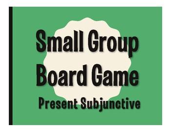 Spanish Present Subjunctive Board Game