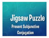 Spanish Present Subjunctive Conjugation Jigsaw Puzzle