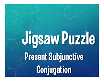 Spanish Present Subjunctive Conjugation Jigsaw Puzzle