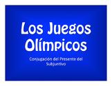Spanish Present Subjunctive Conjugation Olympics
