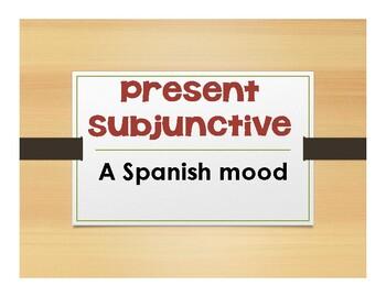 Spanish Present Subjunctive Notes