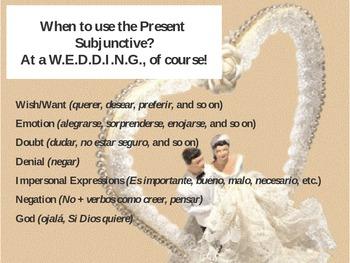 Present Subjunctive Presentation