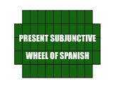 Spanish Present Subjunctive Wheel of Spanish
