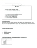 Present Subjunctive w/ Emotions: Guided Notes & Practice: presente subjuntivo