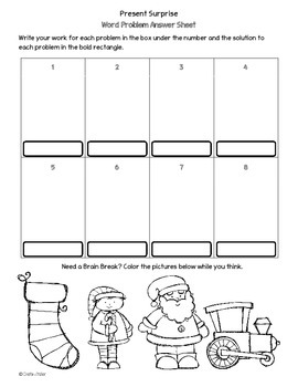 Present Surprise Math Holiday Think Tank