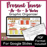 Present Tense AR, ER, IR Verb Graphic Organizer