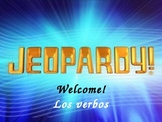 Present Tense AR- Verb conjugation Jeopardy