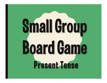 Spanish Present Tense Board Game