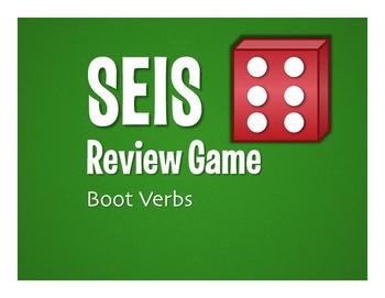 Spanish Boot Verb Seis Game