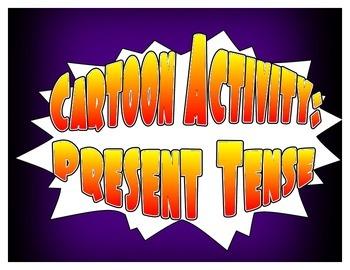 Spanish Present Tense Cartoon Activities