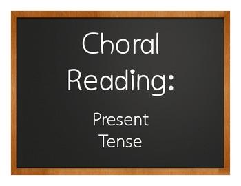 Spanish Present Tense Choral Reading