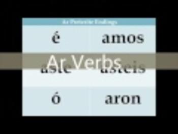 Present Tense Conjugation Rap (Ar, Er, IR Verbs)