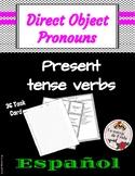 Present Tense Direct Object Pronoun Task Cards