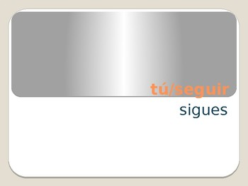 Present Tense E-I Stem-changing Verbs Conjugation Whiteboard Practice