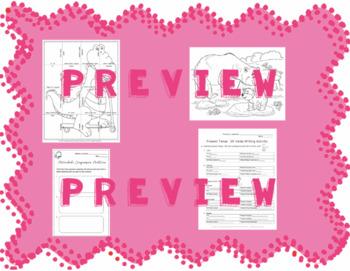 Present Tense -ER Verbs Mini-Unit