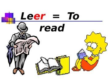 Present Tense ER and IR verbs