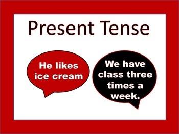 ESL: Present Tense Full Package