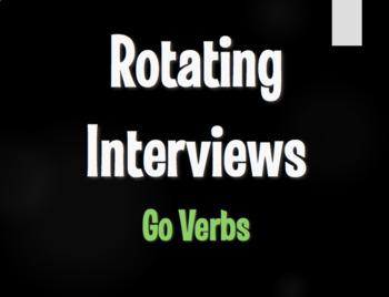 Spanish Go Verb Rotating Interviews