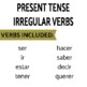 Review Games for Present Tense Irregulars- ser, tener, ir, & more!