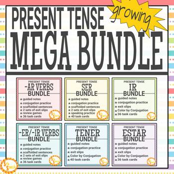 Present Tense MEGA BUNDLE!