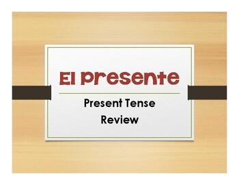 Spanish Present Tense Notes