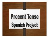 Spanish Present Tense Project:  La Historia de Mi Vida