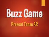 Spanish Present Tense Regular AR Buzz Game