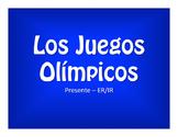 Spanish Present Tense Regular ER and IR Olympics