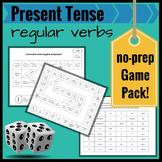 Present Tense Regular Verbs in Spanish: A Review No-Prep G