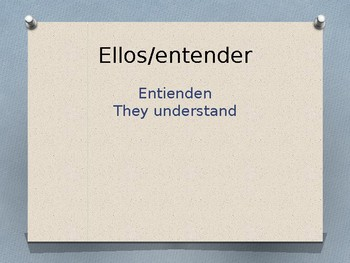 Present Tense Regular and Irregular Verbs Conjugation Whiteboard Practice