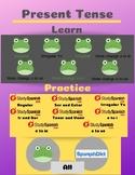 Present Tense Spanish Verbs PDF Infographic