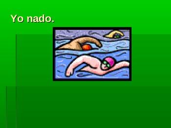 Present Tense Spanish Verbs that End in -ar/-er/-ir