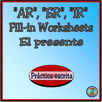 Present Tense Verb Drill Conjugation Worksheets