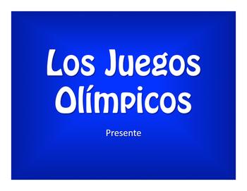 Spanish Present Tense Olympics