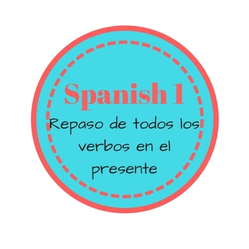 Present Tense Verb Review (Spanish 1)
