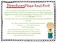 Present Tense Verb Task Cards for Journeys Grade 2