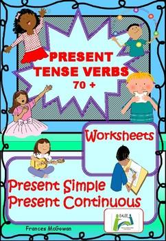 Present Tense Verbs 70+