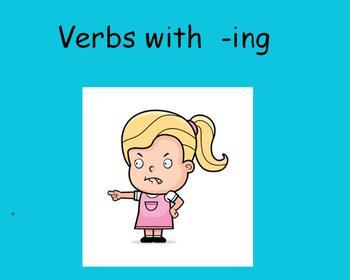 Present Tense Verbs Flipchart