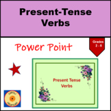 Present Tense Verbs PowerPoint