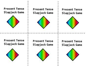 Present Tense Verbs SlapJack Game