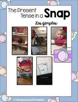 Spanish Present Tense in a Snap Fun Activity lesson plan Regular Verbs