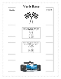 Present and Past Simple Verb Race