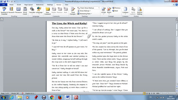 Present and Past Subjunctive PowerPoint and Worksheet for Reading Comprehension