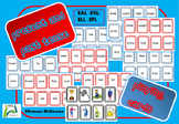 Present and Irregular Past tense Playing cards for EAL/ ES