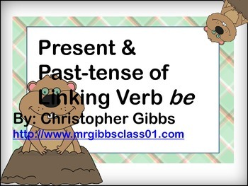 Present and Past-tense of word Verb be Literacy Centers Treasures Unit4.1 2nd
