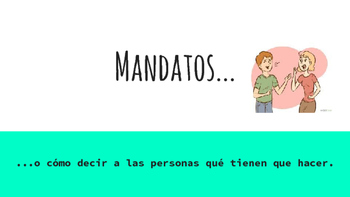 Present and practice imperative (command) form in Spanish